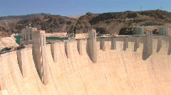Hoover Dam, time lapse Stock Footage