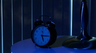 Stock Video Footage of wake up clock