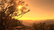 Stock Video Footage of Grand Canyon Sunset