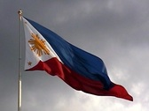 Stock Video Footage of Philippines Flag .