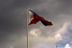 Philippines Flag Stock Footage