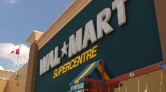 Jm462-Walmart Canada Stock Footage