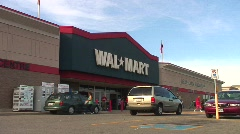jm469-Walmart - stock footage