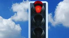 Traffic-light Stock Footage