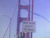Stock Video Footage of GOLDEN GATE BRIDGE