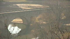 Bridge to Beziers, France Stock Footage