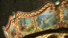 Carcassonne Carousel 3  - stock footage