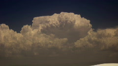 Gigantic cummulus (Thunderhead) Stock Footage