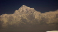 Stock Video Footage of Gigantic cummulus (Thunderhead)