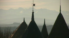 Carcassonne View 2 Stock Footage