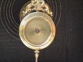 Clock pendulum balancing Stock Footage