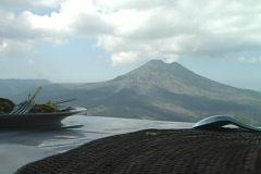 Gunung Batur Scenery Stock Footage
