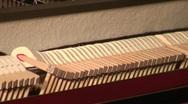 Jm491-Inside Piano2 Stock Footage