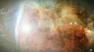 High Defintion view of outer space Stock Footage