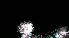 Ilotulitus taivaalla Arkistovideo