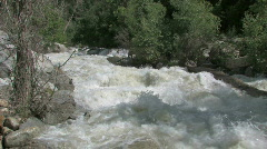 mountain river flood Utah dangerous M HD - stock footage