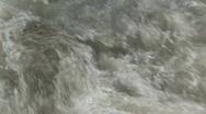 Water rapids granite rock M HD Stock Footage