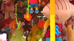 Jm526-Stuffed Toys Stock Footage