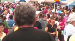 jm530-Multitudes Of People Timelapse - stock footage