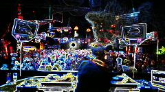 Dj music club disco entertainment nightlife Stock Footage