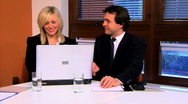 Business Portraits & Teamwork Stock Footage
