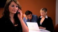 Business Portraits & Teamwork Stock Footage