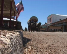 Main St in Tombstone, AZ - stock footage