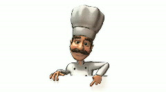 Stock Video Footage of Chef