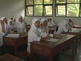 Islamic school girls 4 Stock Footage