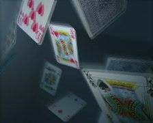 Falling Cards 2, PAL Stock Footage