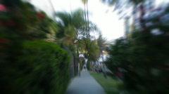 Time Lapse Speeding Camera Stock Footage