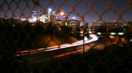 LA Freeway 02 (Time Lapse) Stock Footage