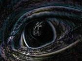 Psychedelic eye vj mix Stock Footage