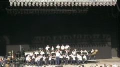 US Airforce Orchestra 1 Stock Footage