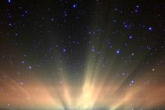 Aurora borealis - Northern lights - stock footage