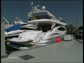 Stock Video Footage of Motor Yacht