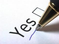 I vote Yes! Stock Footage