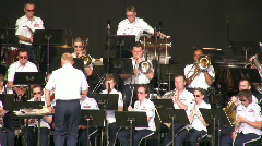 US Airforce Orchestra 2 Stock Footage
