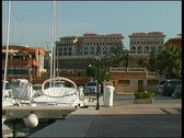 Stock Video Footage of  Yacht harbor Port Adriano