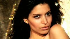 Sexy Latin Fashion Model - stock footage
