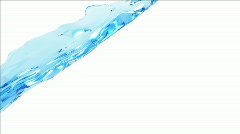 Blue Water Flying HD 1080 Stock Footage