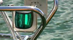 Green light Stock Footage