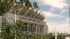 Cleveland, Ohio: Browns Stadium Timelapse Stock Footage