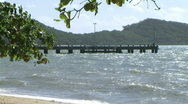 Stock Video Footage of palmcove jetty