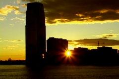 City Sunset 6 Stock Footage