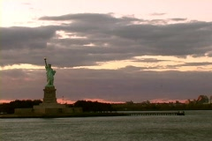 Statue of Liberty cruise by Stock Footage