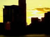 City Sunset 5 Stock Footage