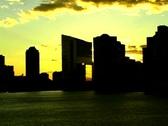 City Sunset 1 Stock Footage