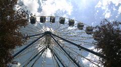 Aurora, Ohio: Ferris Wheel Timelapse - stock footage