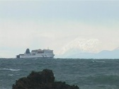 Stock Video Footage of Ferry crossing 1